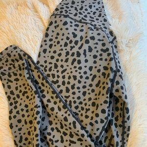 SOLD Balance Athletica snow leopard leggings